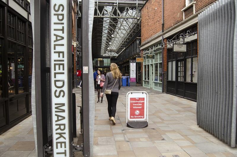Spitalfields Market entrance