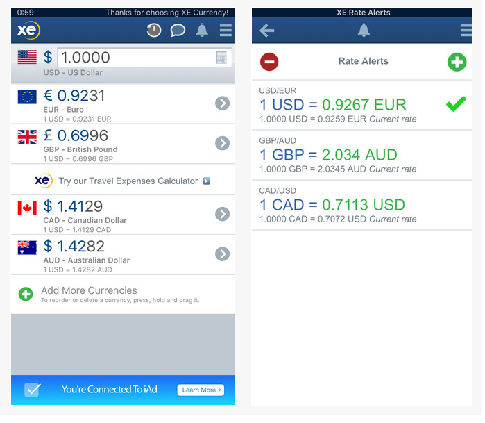 XE Currency Exchange