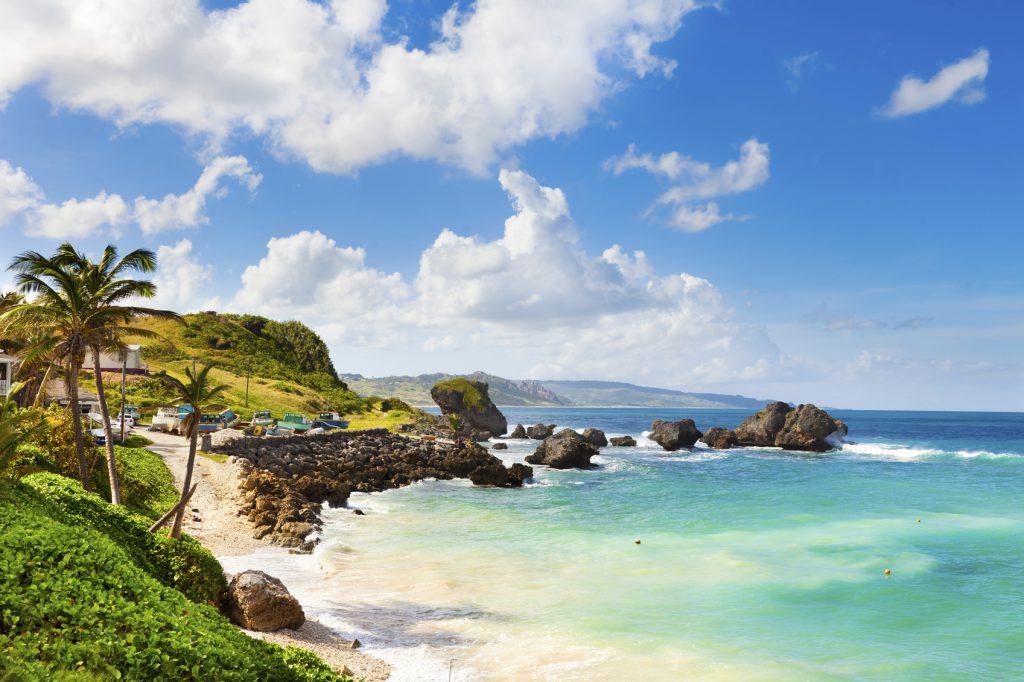 Bathsheba, East coast of Barbados, Lesser Antilles.